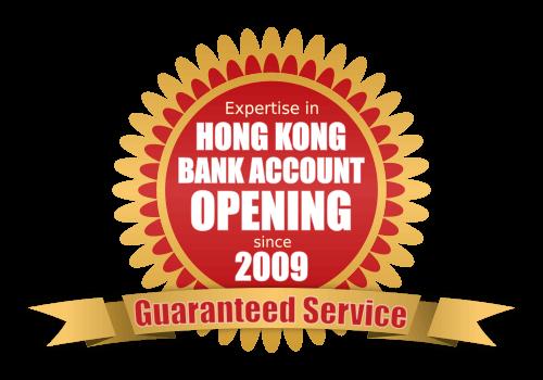 Expertise in Hong Kong Bank Account Opening since 2009. Guaranteed Service.