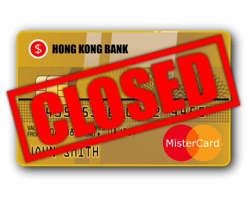 AsiaBC: Reopening of closed Hong Kong bank account